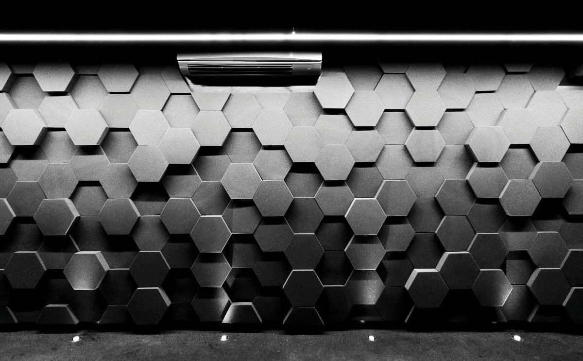 Sound Zero Acoustic Foam Hex Profile
