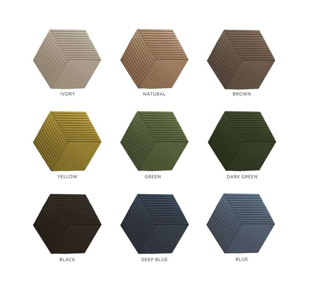 Strike a line through your bad room acoustics and enter a world of contemporary bliss. Inspired by the grids of the modern metropolis, CorkBee Line acoustic panels introduce an element of simple style and tasteful minimalism into any space.