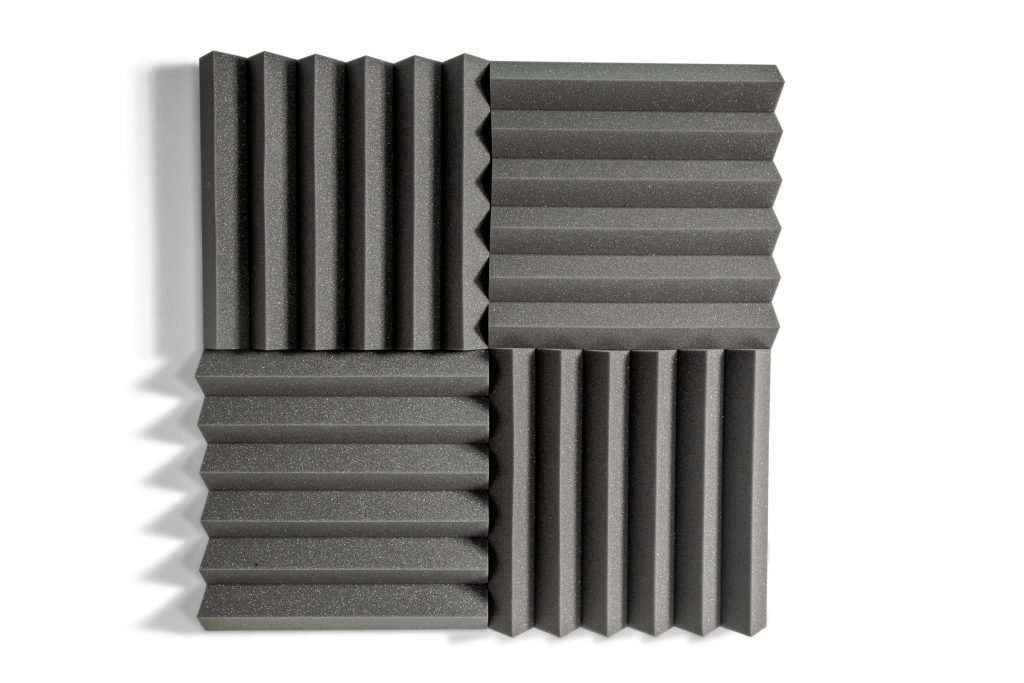 Sound Zero Ridged tiles can be used for a range of environments to reduce unwanted noise