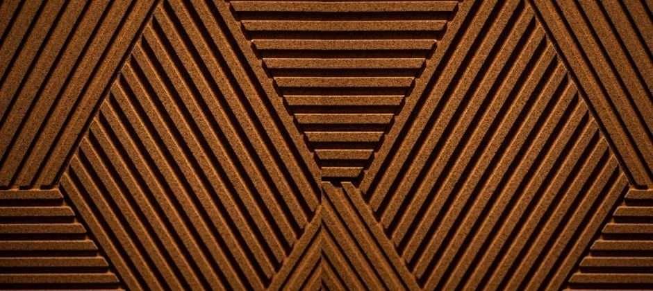 Acoustic Cork Cladding