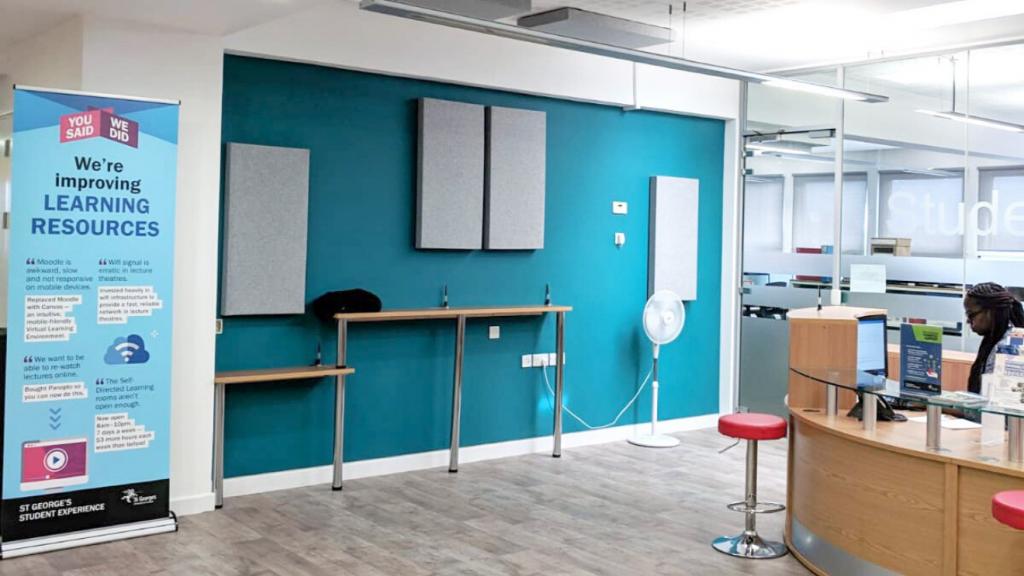 Acoustic wall panels | NHS