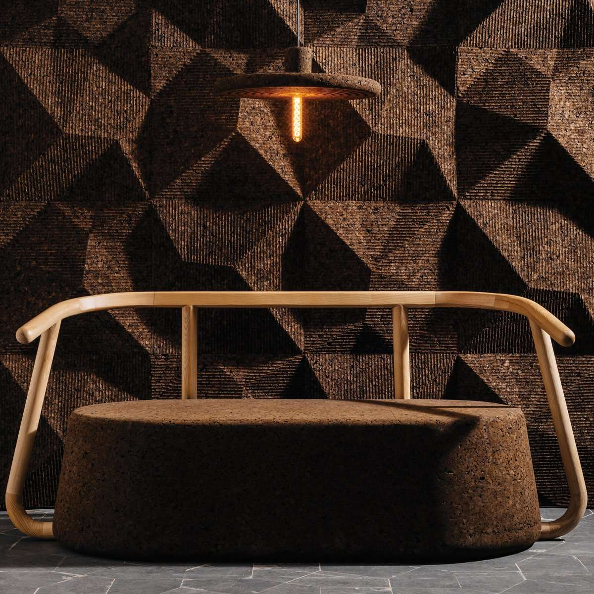 GENCORK Delaunay and two-seater chair