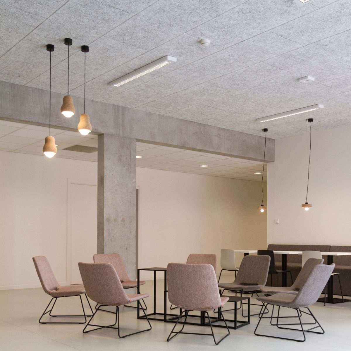 Wood Wool ceiling tiles
