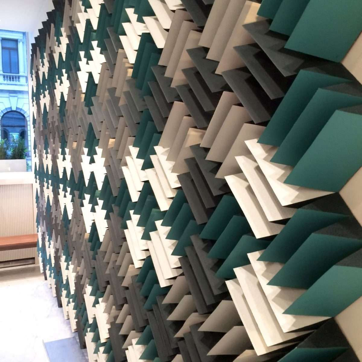 Anechoic Wedge foam