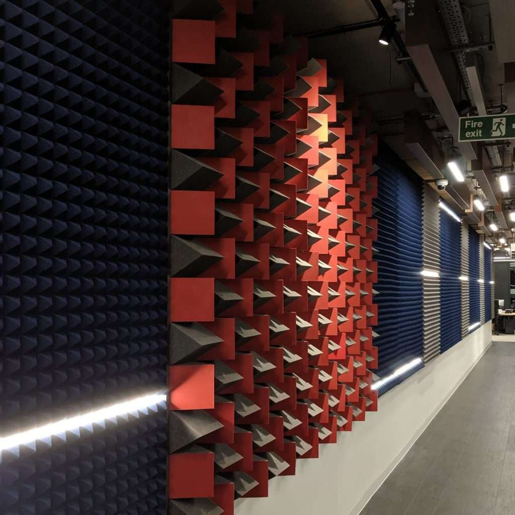 Universal Music office acoustics by Sound Zero