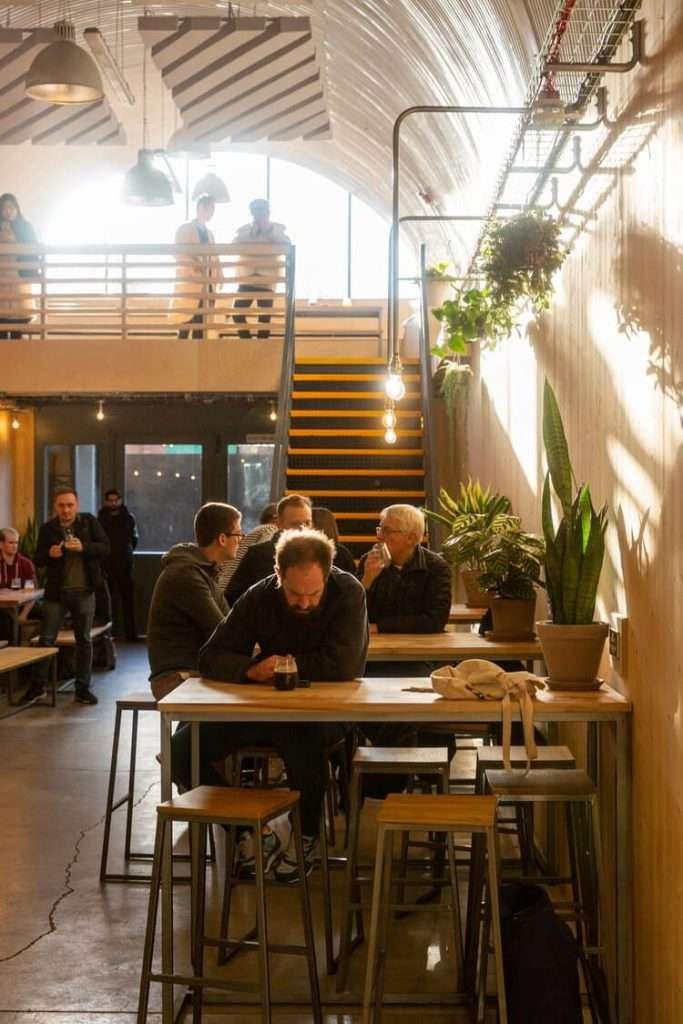Kernel Brewery interior | Sound Zero | Acoustics | Soundproofing | Case study