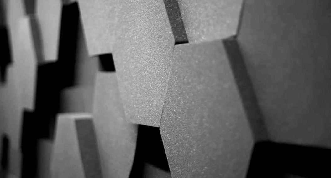 Sound Zero Hexagon Acoustic tiles