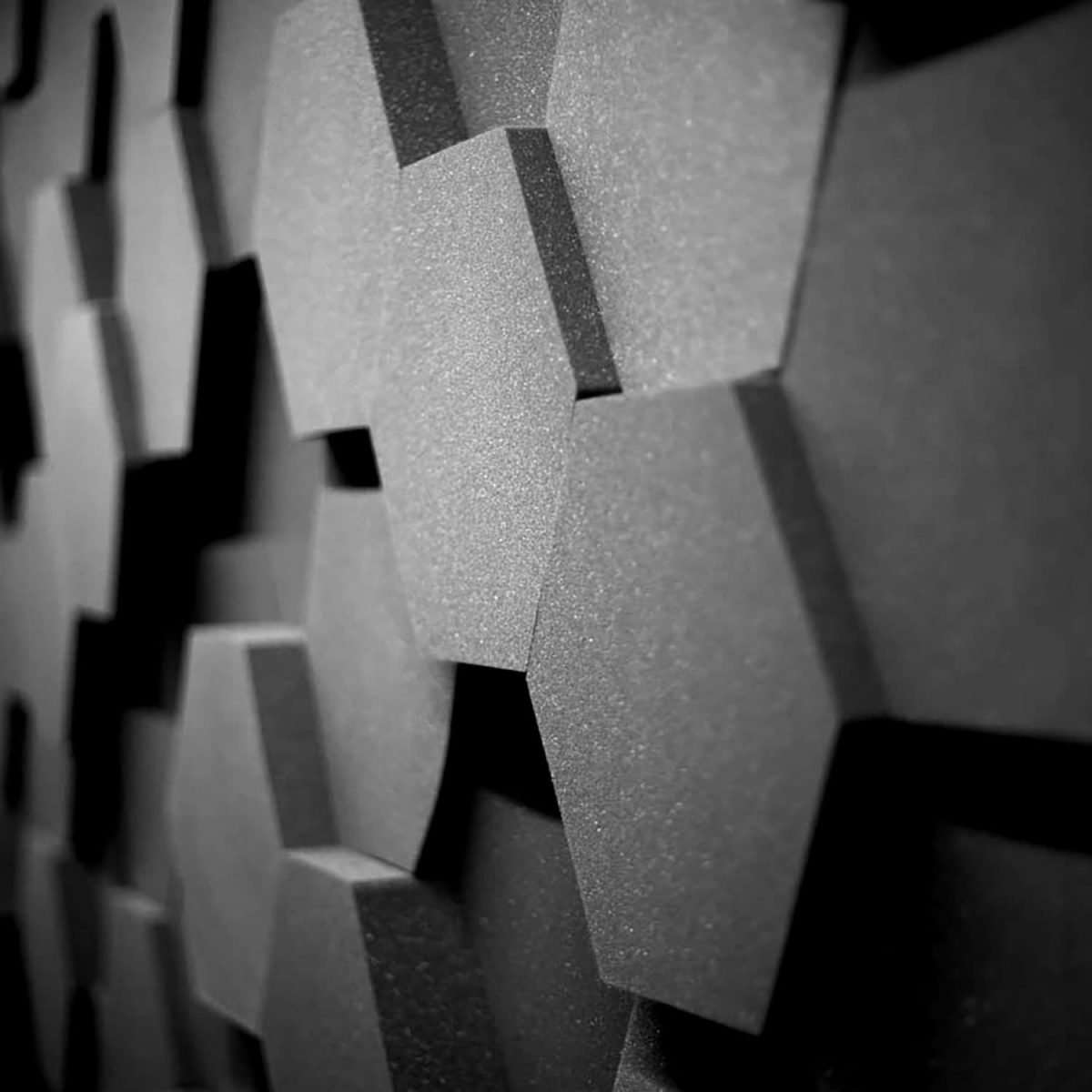 Sound Zero Hexagon Acoustic tiles