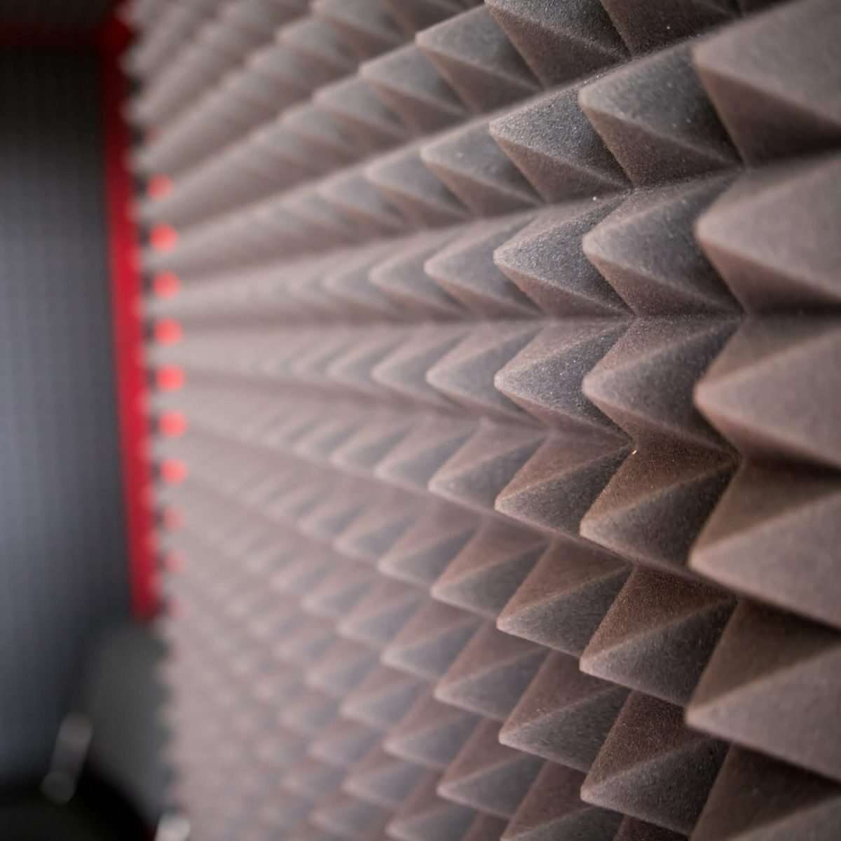 pyramid profile foam