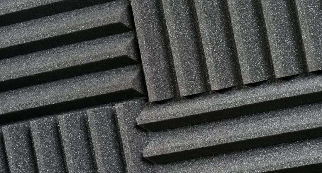 Ridged Acoustic Foam Tiles