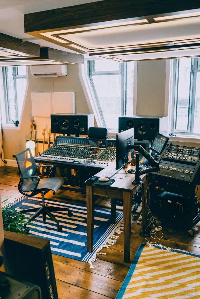 Full-studio design by Sound Zero