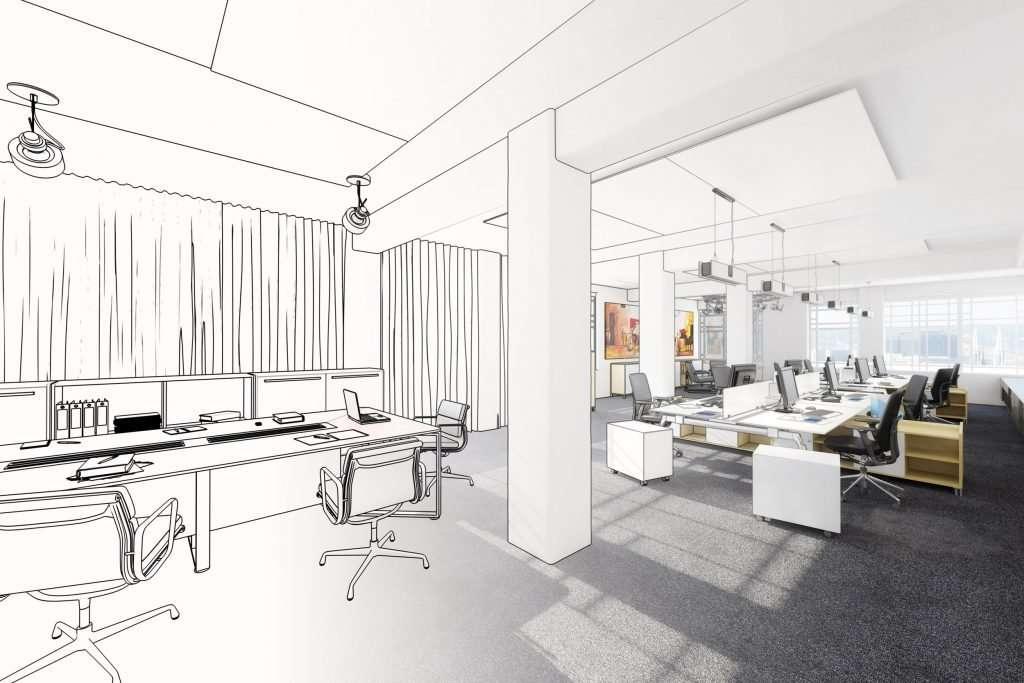 Modelling office acoustics