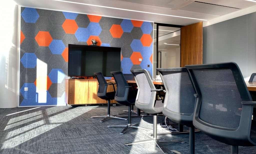 PET hexagon boardroom