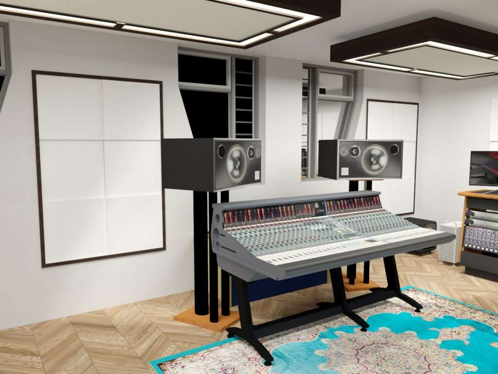 Sound Zero will model the studio to ensure our clients know exactly what they are getting