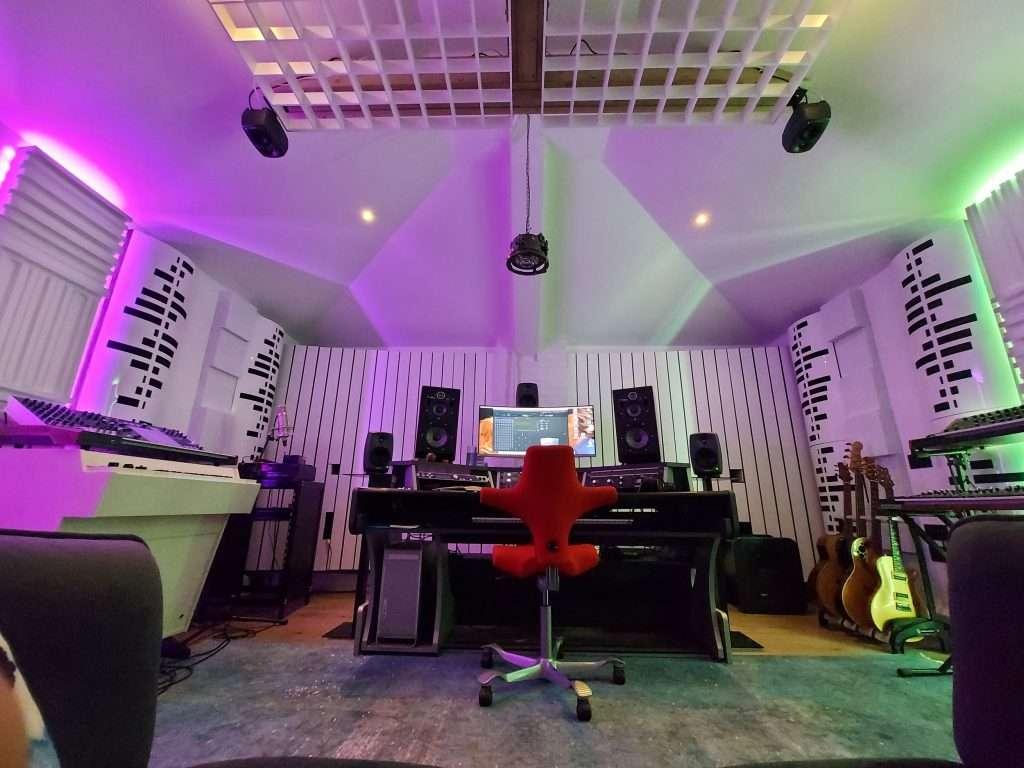A Sound Zero studio design will reflect the personality of the client