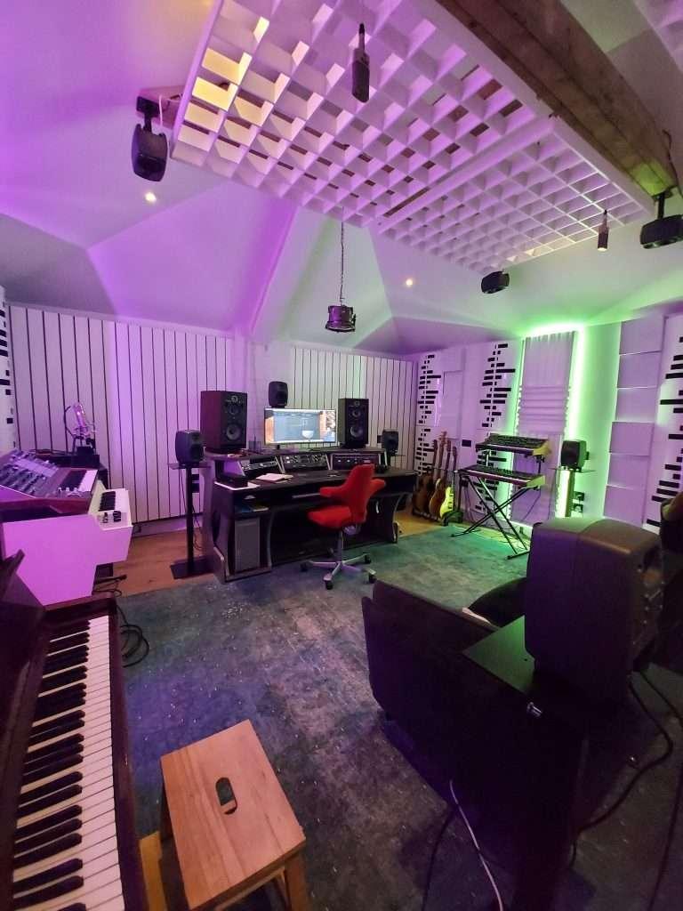 full studio image - Steven Wilson