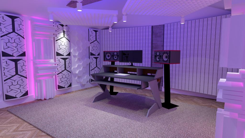 Image render Steven Wilson studio