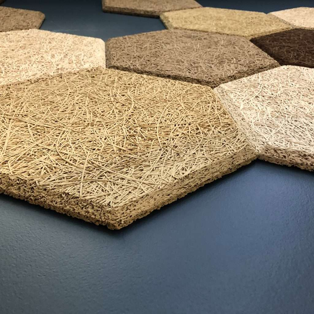 Wood wool panels